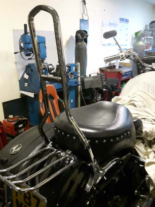 Yamaha Royal Star back rest